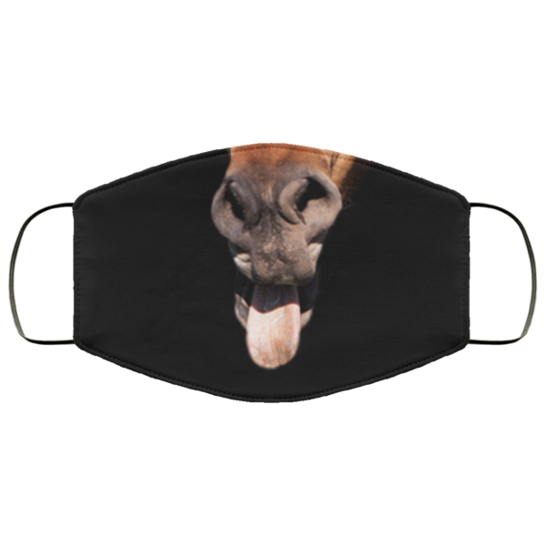 Horse Lovers Face Mask Funny Horse Face Face Mask