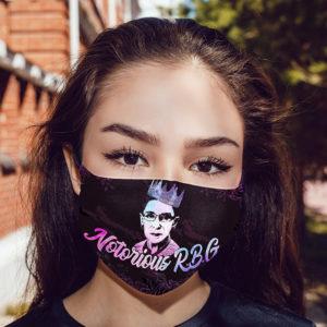Notorious RBG Face Mask Reusable
