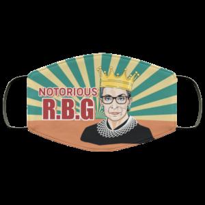 Notorious RBG Vintage Face Mask Reusable