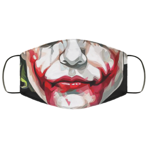 Heath Ledger Scary Joker Mouth Halloween Face Mask