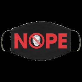 Nope Joe Biden Face Mask