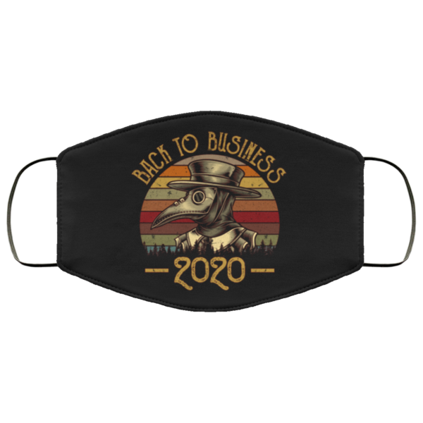 Back To Business 2020 Face Mask