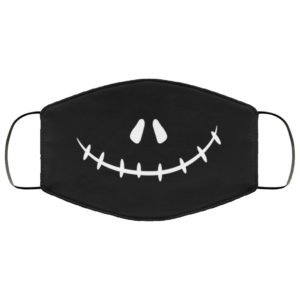 Nightmare Before Christmas Jack Skellington Gifts Face Mask