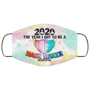 2020 the Year I Got to Be a Mask Maker Essential Face Mask