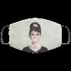 Audrey Hepburn Bubble Gum Face Mask