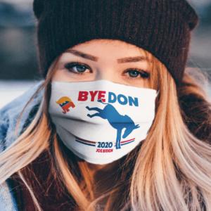 ByeDon---Bye,-Bye-Donald-Trump---Joe-Biden-2020-Face-Mask