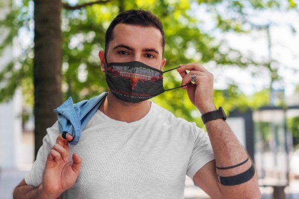 Dirge of Cerberus Face Mask Reusable