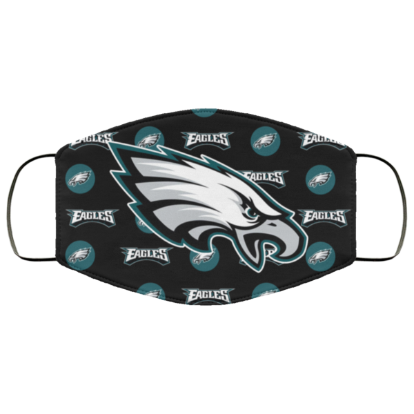 Fan's Philadelphia Eagles Cloth Reusable Face Mask