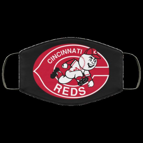 Hot Fan's Cincinnati Reds Cloth Reusable Face Mask