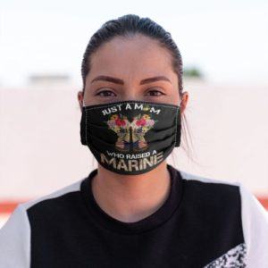 Just a mom who raised a Firefighter Cloth Face Mask Reusable