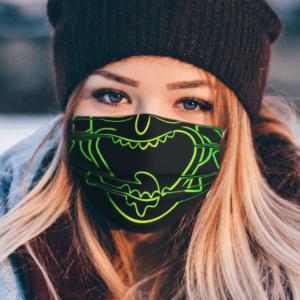 Laser Rick Face Mask