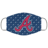 New Fan's Atlanta Braves Cloth Reusable Face Mask