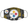 New Fan's Pittsburgh Steelers Cloth Reusable Face Mask