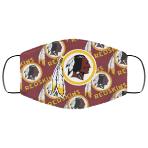 New Fan's Washington Redskins Cloth Reusable Face Mask