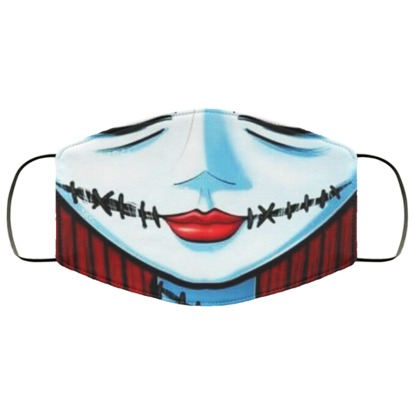 Nightmare Before Christmas Jack Skellington Cloth Face Mask