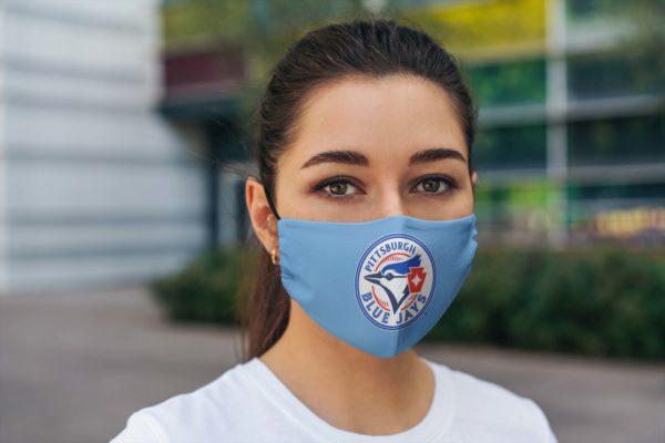 Pittsburgh Blue Jays Face mask