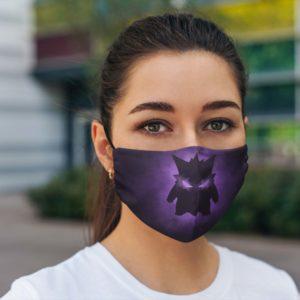 Realistic Gengar Face Mask Reusable