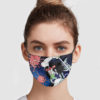 Samurai Vs Virus Demon Reusable Face Mask
