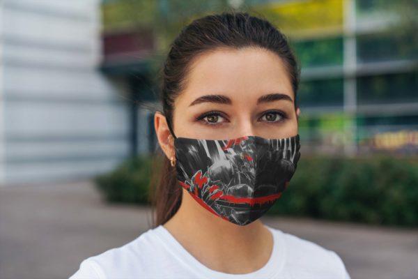 Silver-ranked Adventurer Face Mask Reusable