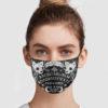 Spirit Board Yes No Goodbye Reusable Face Mask