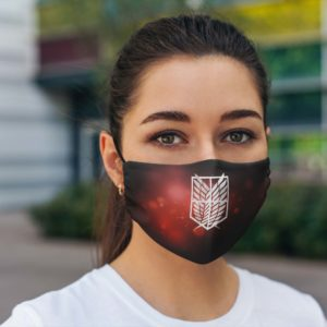 Survey Corps Face Mask Reusable