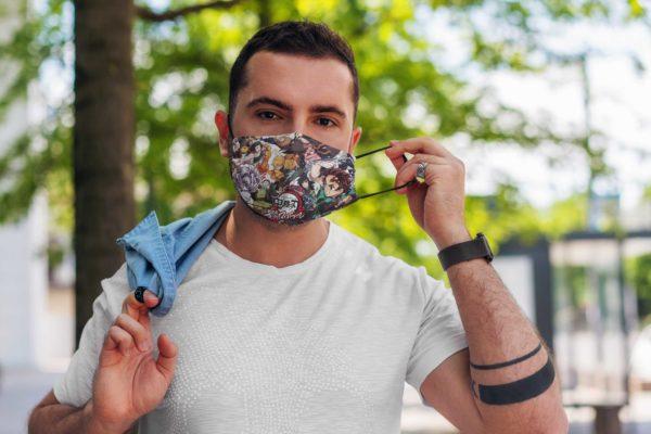 Swordsman Corps Face Mask Reusable