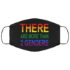 There Are More Than Two Genders Cloth Face Mask