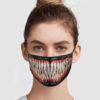Venom Mouth Reusable Face Mask