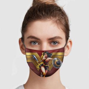 Wonder Woman Reusable Face Mask