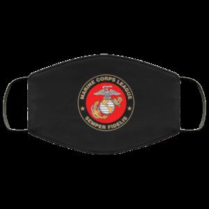 Marine Corps League Semper Fidelis Face Mask