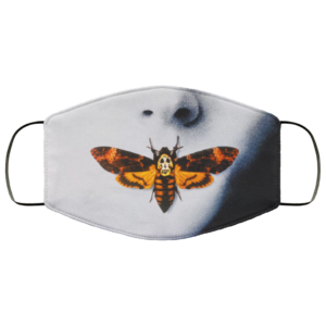 The silence of the lambs face mask Washable Reusable