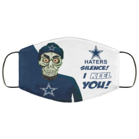 Achmed Dallas Cowboys Silence I Keel You Cotton Face Mask