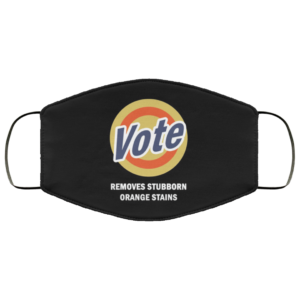 Anti-Trump Vote Detergent Funny Vintage Face Mask