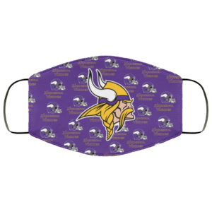 Minnesota Vikings Cloth Face Mask Washable