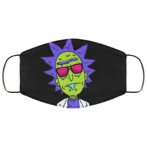 Rick and Morty melting Face Mask