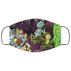 Rick and Morty Lets Not Talk About It Face Mask