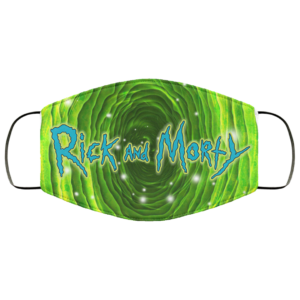 Rick and Morty Infinity Portal Face Mask