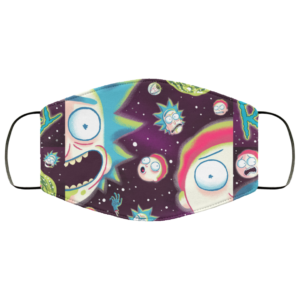 Rick and Morty Galaxy Face Mask