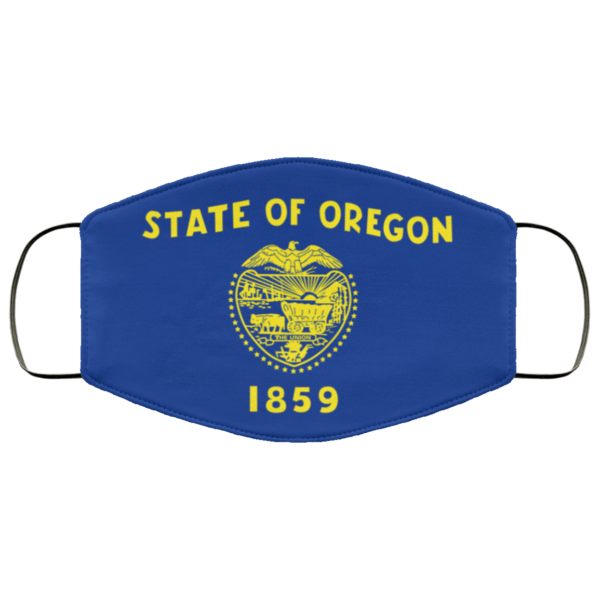 State of oregon 1859 cloth Cloth Face Mask Reusable