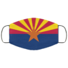 Flag of Arizona state Cloth Face Mask Reusable