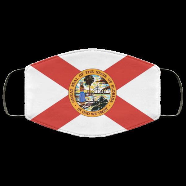 Flag of Florida state Cloth Face Mask Reusable