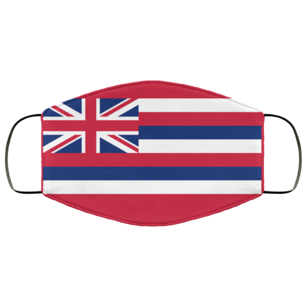 Flag of Hawaii state Cloth Face Mask Reusable