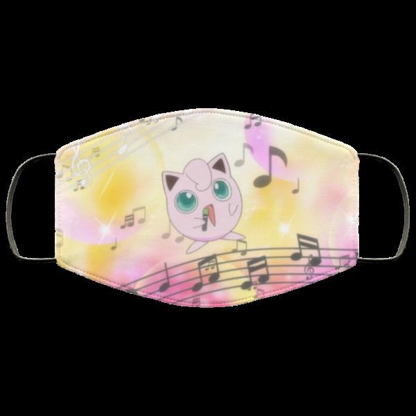 The Song of Jigglypuff Face Mask Reusable