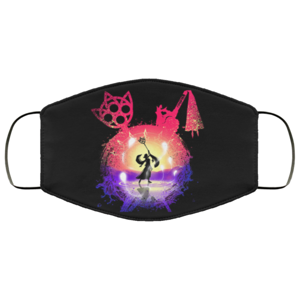 Dance of the Summoner Face Mask Reusable