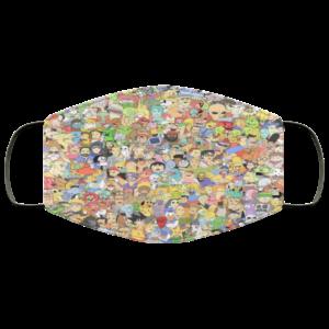 Wheres Morty Face Mask Reusable