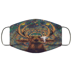 The Deer in The Forest Face Mask Reusable