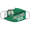 This Is How I Save The World Boston Celtics Cloth Face Mask