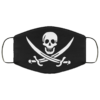 Jolly Roger Cloth Face Mask