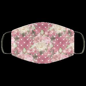 Romance-Flowers 1 Face Mask Washable Reusable
