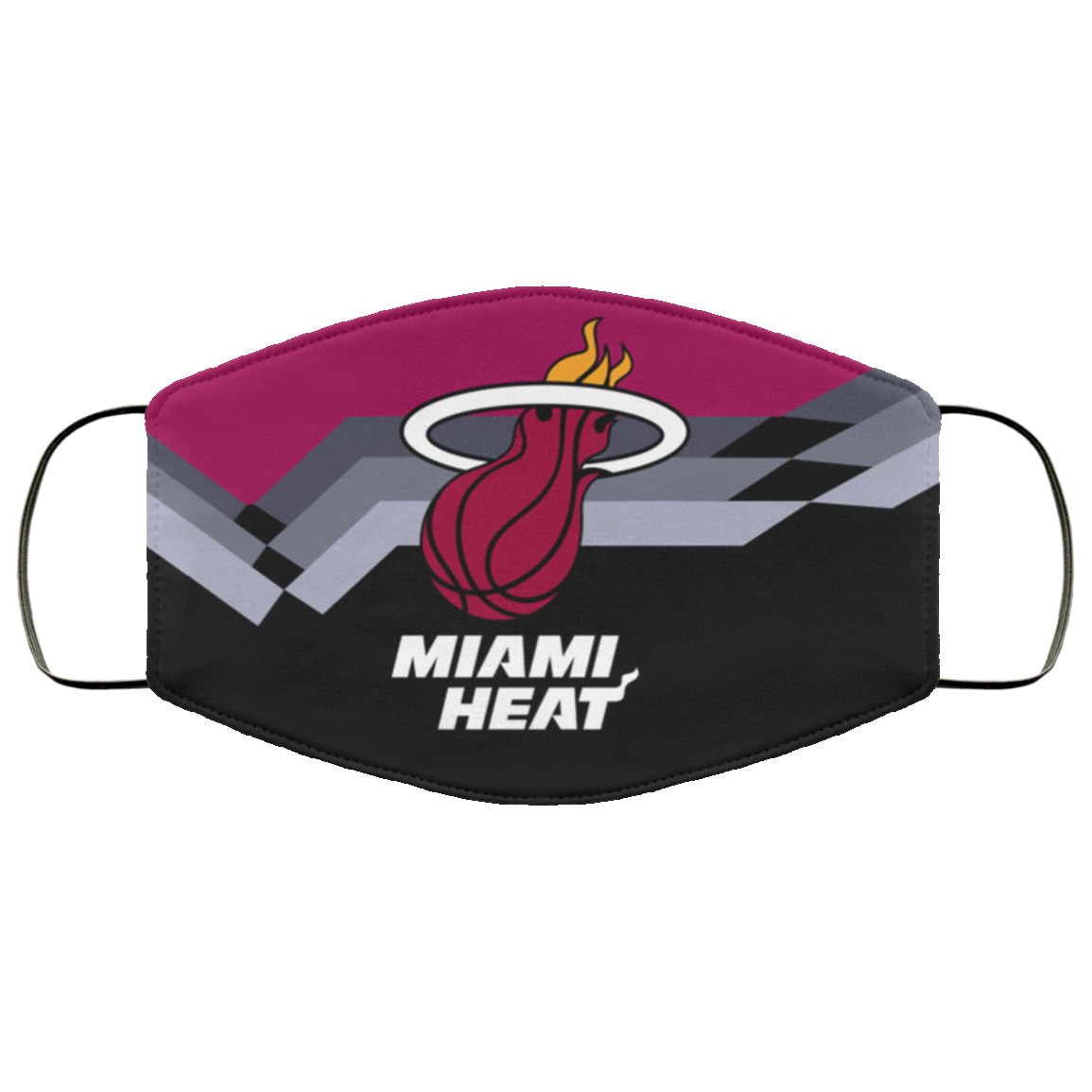 Miami Heat Nba Face Mask